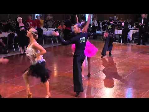 Junior Latin Samba - UK Open 10 Dance Championships 2014