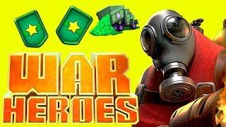 WAR HEROES новая игра на андроид новые карты и много гемов