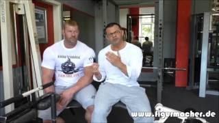 Der Figurmacher im Gespräch mit Mr. Universum - Wie geht Muskelaufbau?