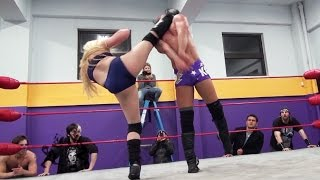 Repeat youtube video [Free Match] JT Dunn vs. Kimber Lee - Beyond Wrestling #TFT2 (WSU, Mixed, Intergender)