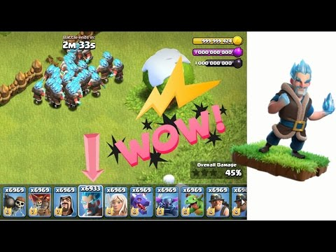 Ice Wizard In Clash Of Clans | Hacked Apk | Works
