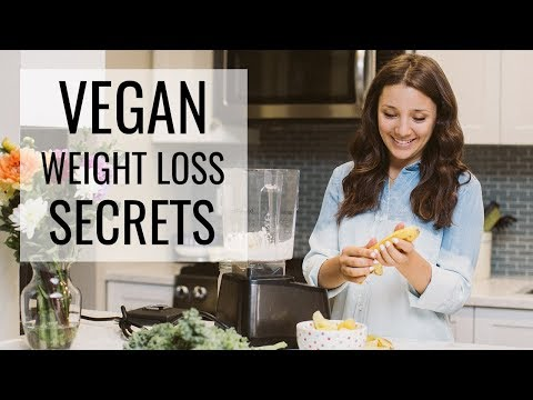 HOW TO SLIM DOWN AS A VEGAN | plant-based diet tips
