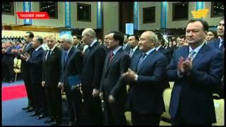 видео: Торжественная церемония инаугурации Президента Республики Казахстан Нурсултана Назарбаева