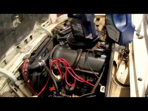 Как промыть двигатель ваз 2106