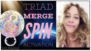 Meditation. TRIAD ALCHEMY, SPIN TO ACTIVATE YOUR PINEAL GLAND This is super epic and intense!