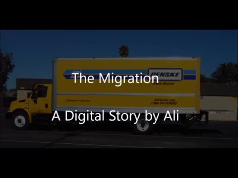 "My digital story project ""Migration"" by Ali - Chaboya Middle School"
