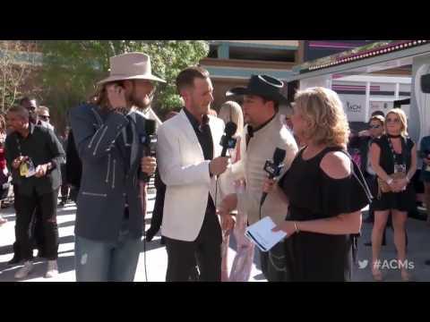 2017 ACM Awards: Florida Georgia Line Red Carpet Interview