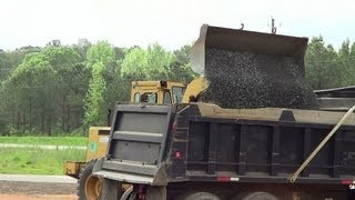 How To Load A Dump Truck 4-18-2013