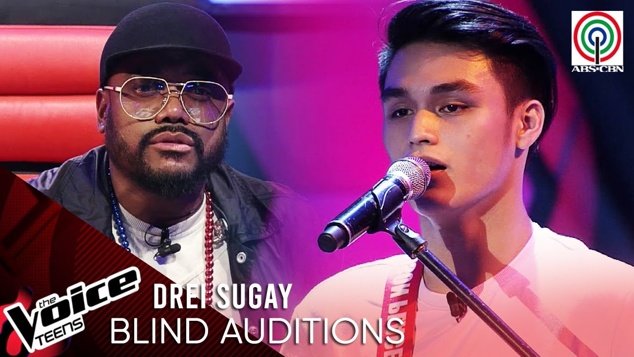 Drei Sugay - Maybe The Night   Blind Audition   The Voice Teens Philippines 2020