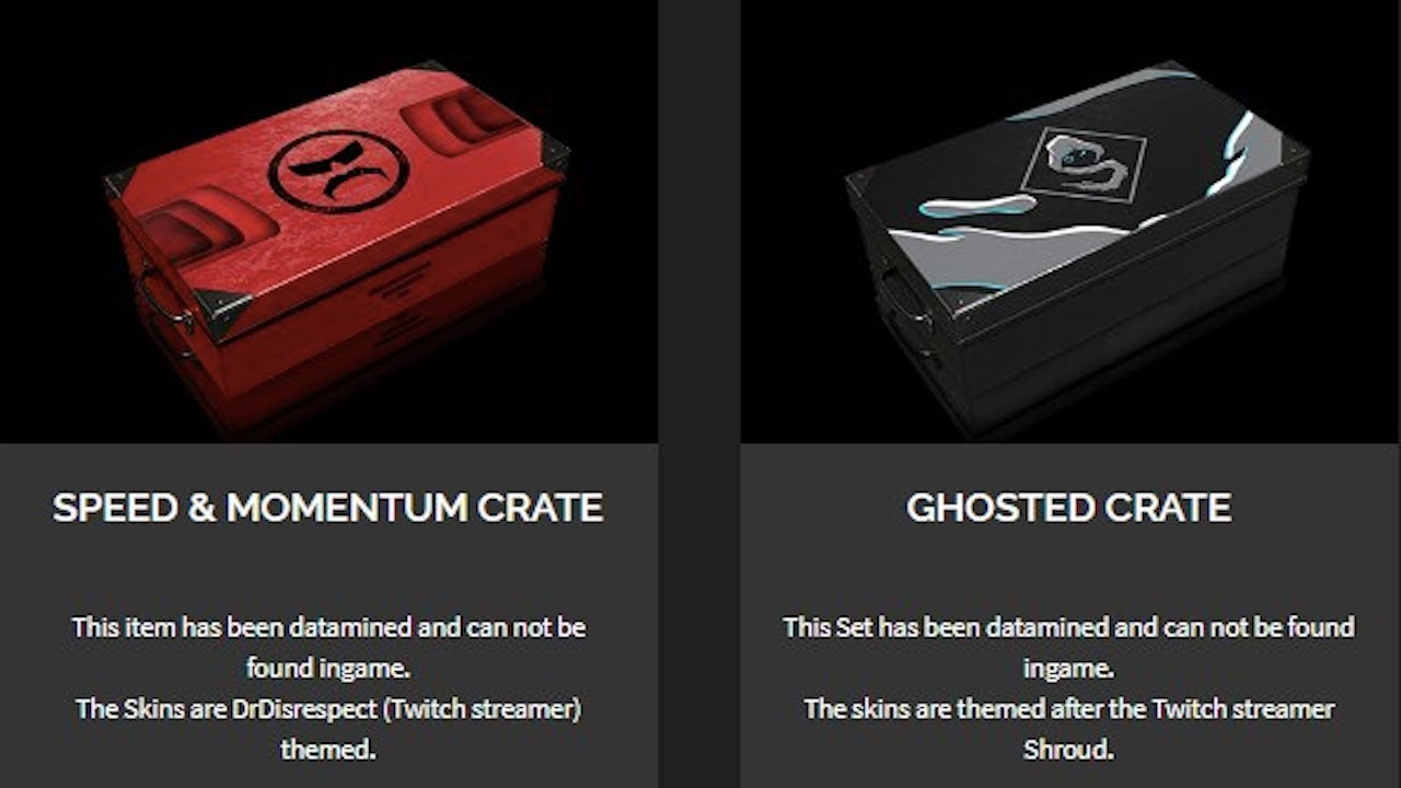 how to buy ghosted crates