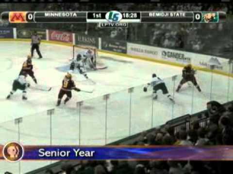 110307 Grand Rapids Patrick White Gophers Hockey