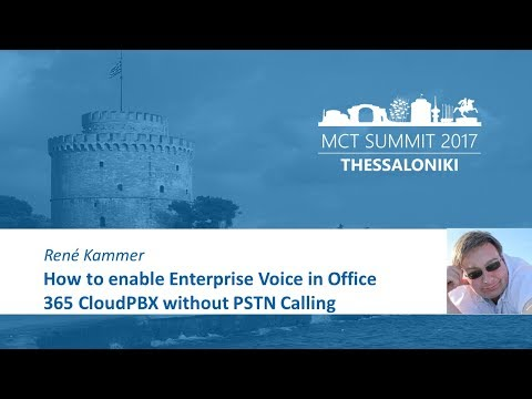 How to enable Enterprise Voice in Office 365 CloudPBX without PSTN Calling   René Kammer