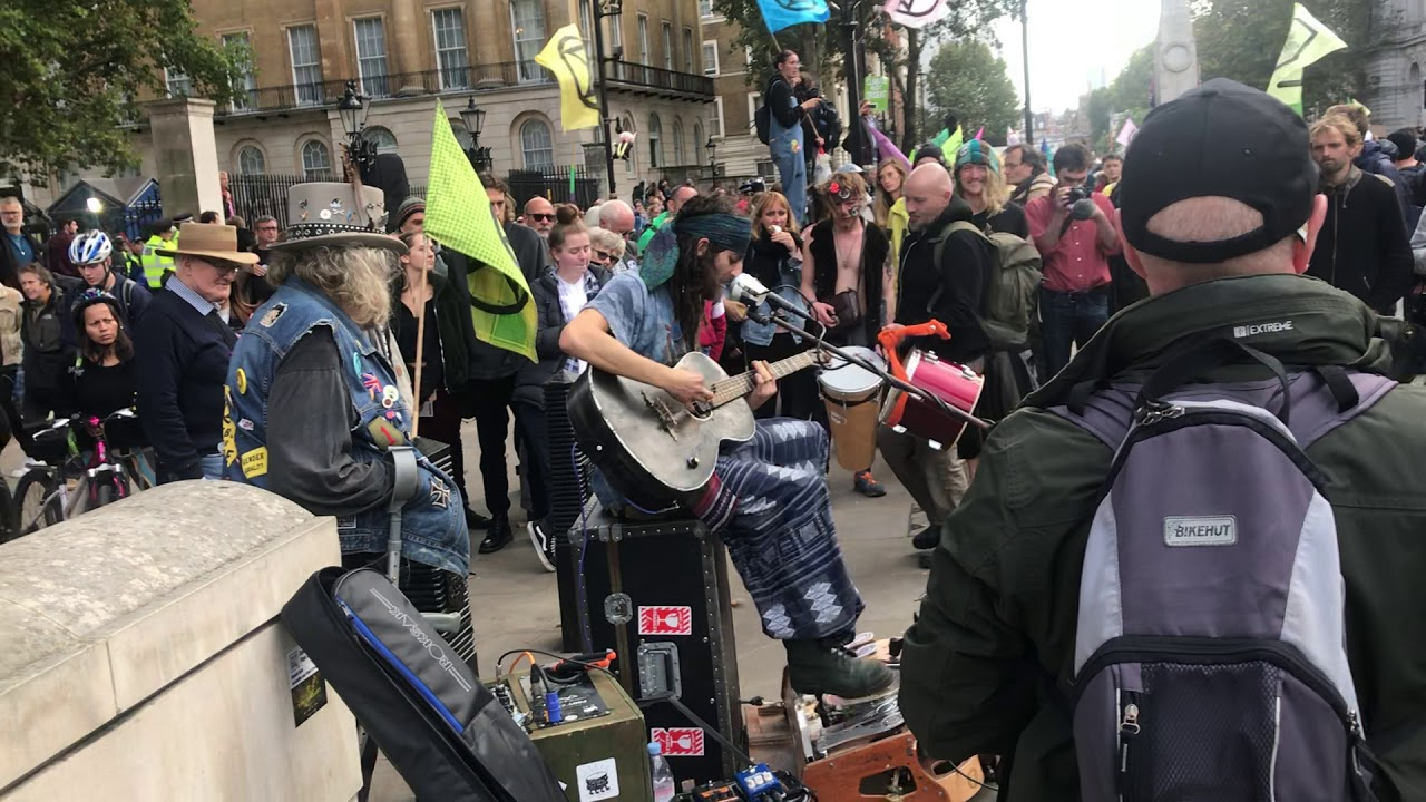 Download Cam Cole - Mama and You Know (Live at Extiction Rebellion protest in London)