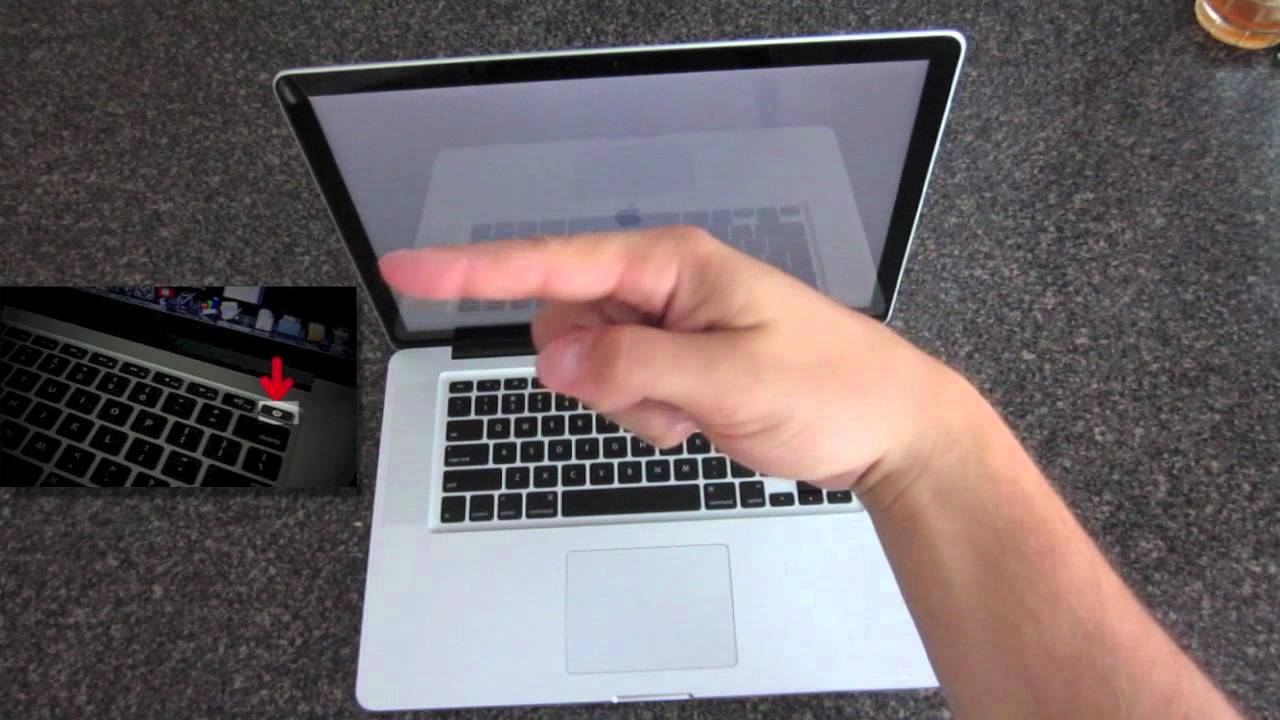 How To Turn On The MacBook Pro - YouTube