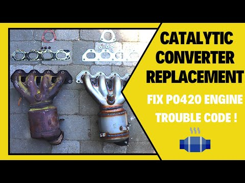 How To Change Catalytic Converter Chevrolet Cruze