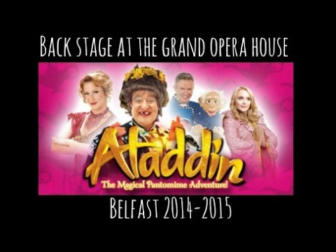 REHEARSALS & BACK STAGE @ GRAND OPERA HOUSE ALADDIN
