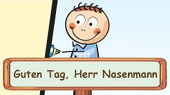 Guten Tag, Herr Nasenmann - Fingerspiellieder zum Mitsingen    Kinderlieder