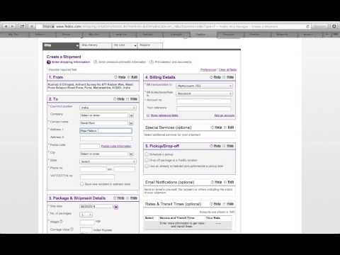How to Generate an AWB ( Air Way Bill ) Using Fedex Ship