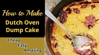Recipe Dutch Oven Dump Cake