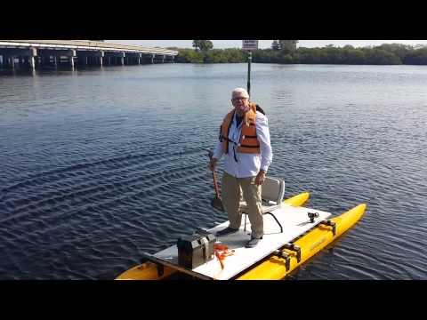 3 fishing kayaks and pontoon boats in one. | Doovi