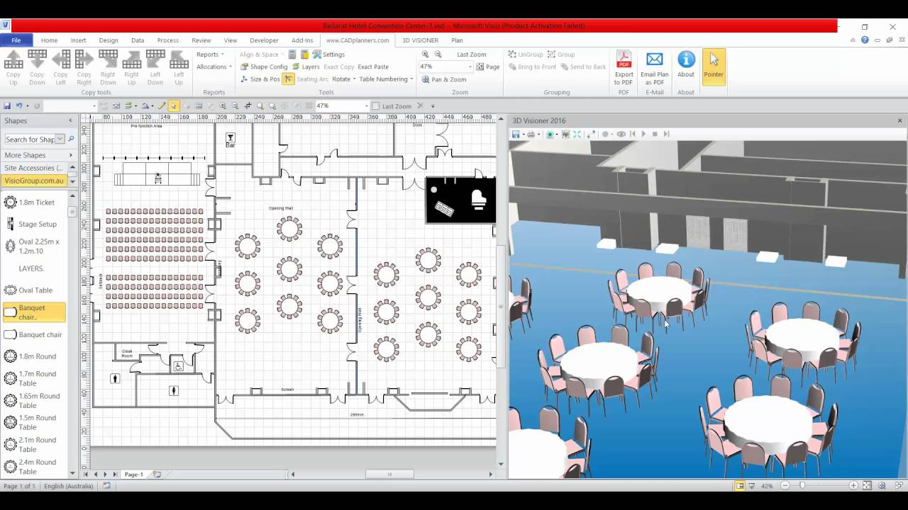 Microsoft Visio 3d Update By Visio Group Div Of