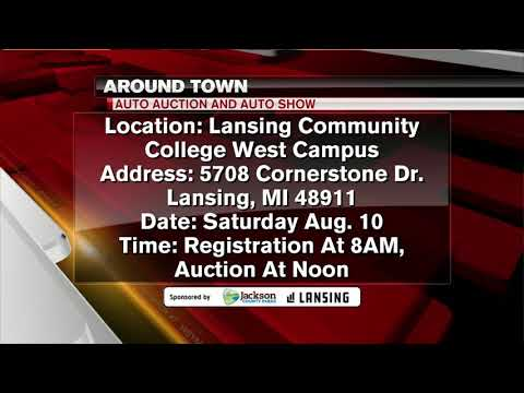 Around Town -  Auto Auction and Show at Lansing Community College - 8/8/19