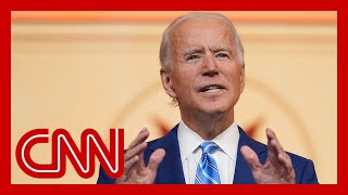 Hear Biden's message to those who've lost loved ones to Covid-19
