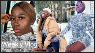 WEEKLY VLOG: Dallas Winter storm, Surviving the craziest week of my life, power outage & More