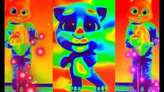 رقصة القطة l القطط اللطيفة l الملونة ترقص وتغني 9