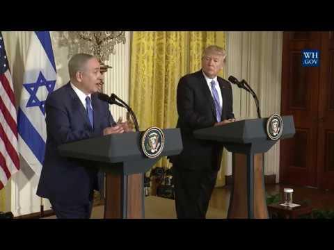 Netanyahu Israel Trump 1 or 2 state Peace Deal Palestinians & ARAB countries February 15 2017 News