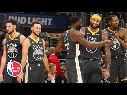 DeMarcus Cousins, Warriors make easy work of Lakers | NBA Highlights thumbnail