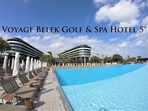 Voyage Belek Golf & Spa Hotel 5* - Antalya, Turkey!