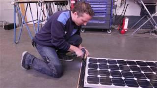 NKC TV - Hoe wordt een zonnepaneel op een camper geplaatst?
