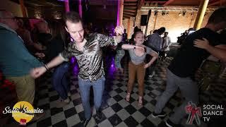 Timothé Fournier & Steffi de Leeuw - Salsa Social Dancing   Salsa Sunrise Party 2019