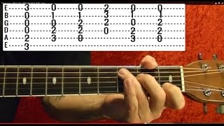 IN THE SUMMERTIME - Mungo Jerry - Easy Guitar Lesson With TABS