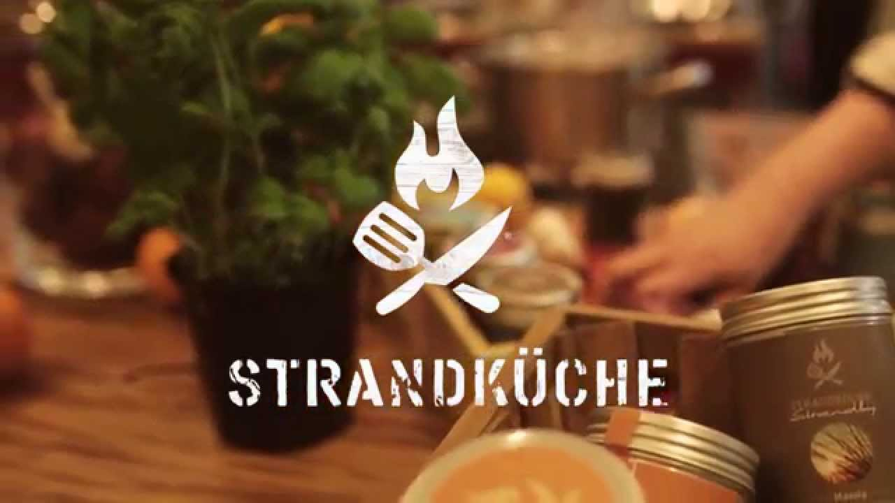 strandküche kiss-the-cook trailer - youtube