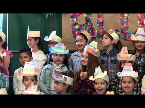 Ararat Charter School 2018 Graduation - Nare's 1st Grade Graduation