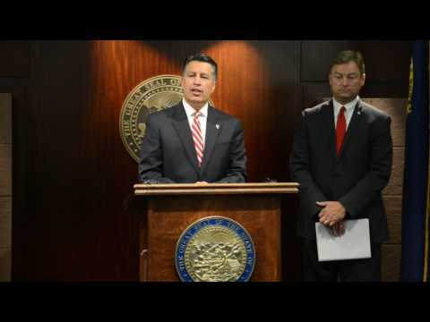 Sen. Dean Heller and Gov. Brian Sandoval Comment on Healthcare in Las Vegas