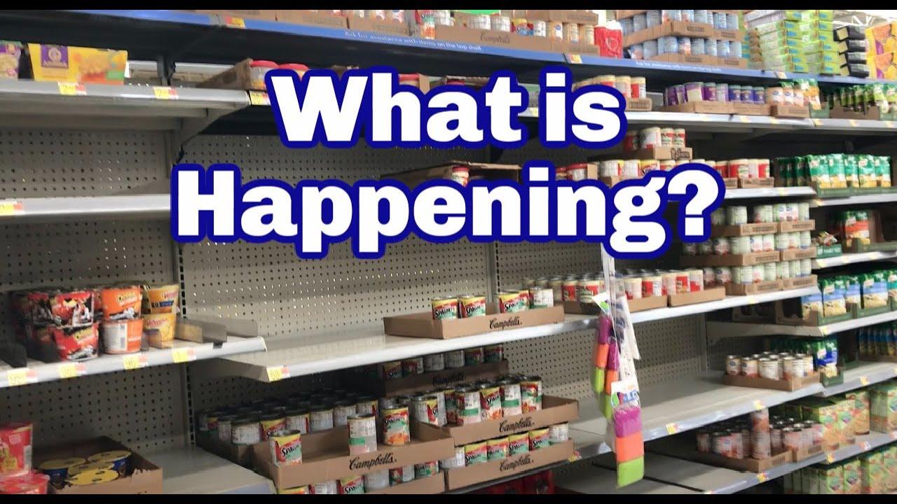 Download I Am Shocked! Bare Store Shelves at Walmart- Get Prepared