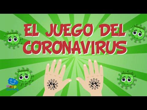 EL JUEGO DEL CORONAVIRUS PARA NIÑOS 🦠🖐🏻🧼   Vídeos Educativos para Niños