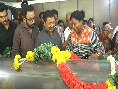 Sivakumar Pays his Last Respect to Vinu Chakravarthy   LiveOnHeavenTv