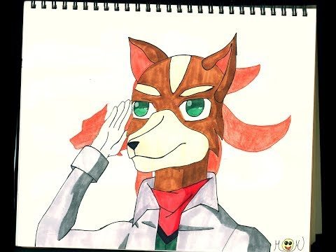 Drawing Fox Mccloud Youtube