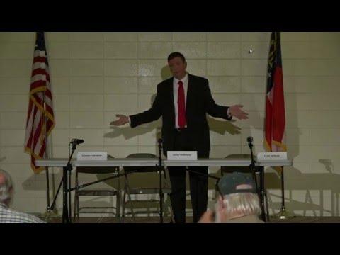 Bartow Sheriff's Debate 2016