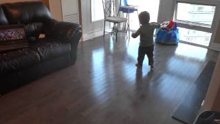 ishaan dancing to the tune jalwa from the film wanted little salman khan
