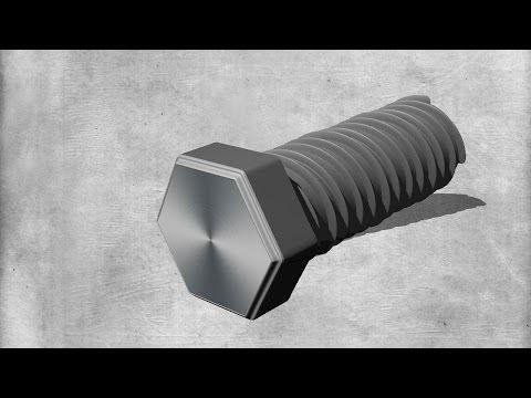 Adobe Photoshop – 3D Schraube erstellen
