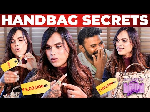 """Date பண்ணப்போ அந்த பையன் கொடுத்தது""   Actress Mila Handbag Secrets   Shakeela's Daughter"