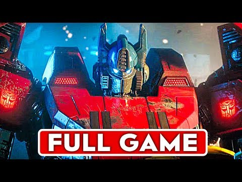 TRANSFORMERS WAR FOR CYBERTRON Gameplay Walkthrough Part 1 FULL GAME [1080p HD] - No Commentary