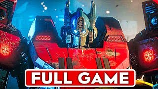 Скачать TRANSFORMERS WAR FOR CYBERTRON Gameplay Walkthrough Part 1 FULL GAME 1080p HD No Commentary