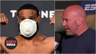Dana White loves everything about Tyron Woodley vs. Gilbert Burns | ESPN MMA