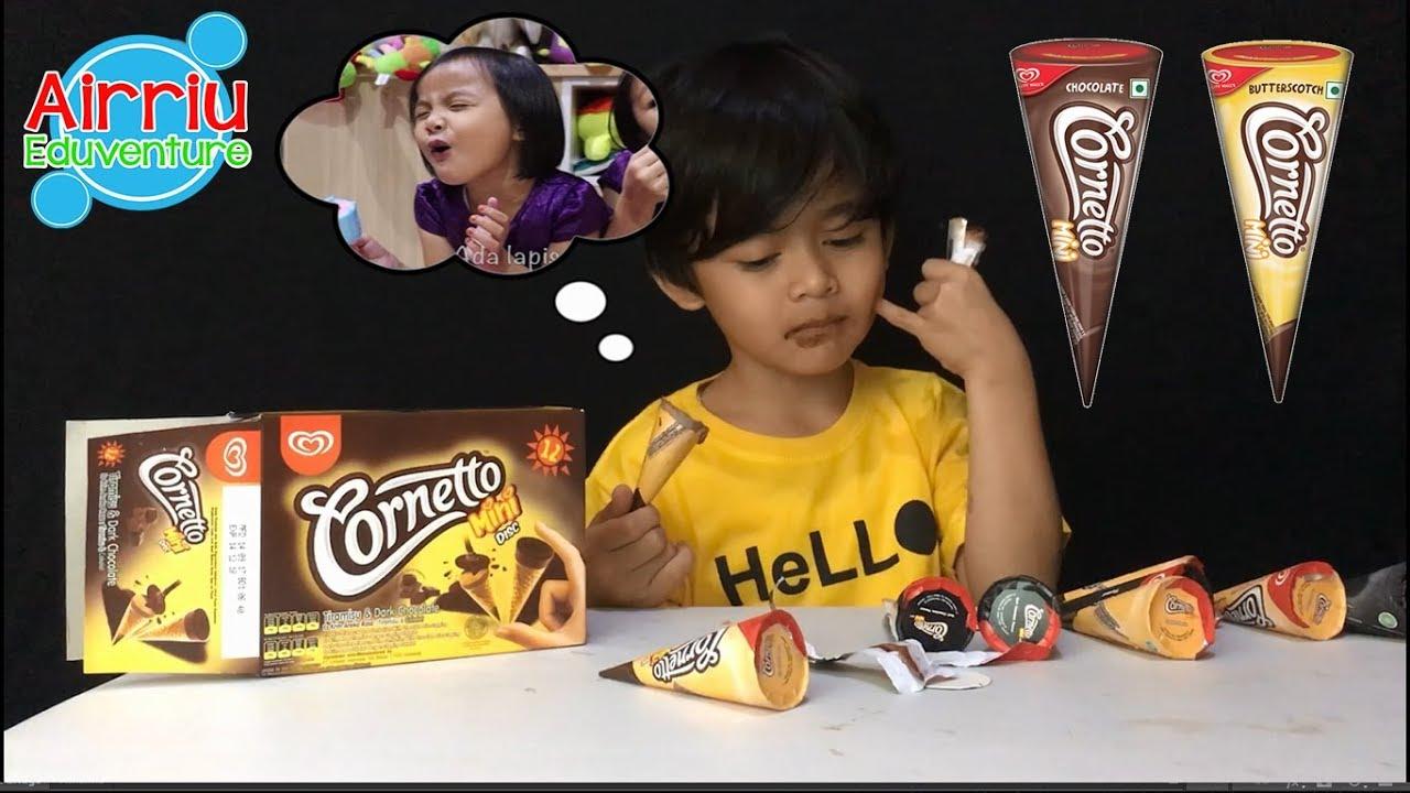 Es Krim Cornetto Mini Disc Ice Cream Review